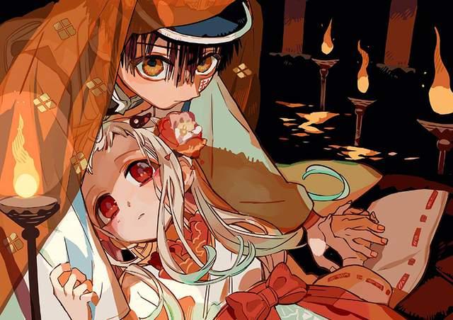 漫画「地缚少年花子君」第14卷发售宣传绘公开