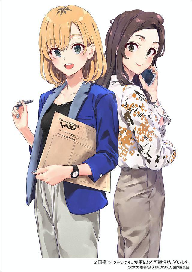 剧场版动画「白箱」BD-BOX豪华版使用绘预览公布