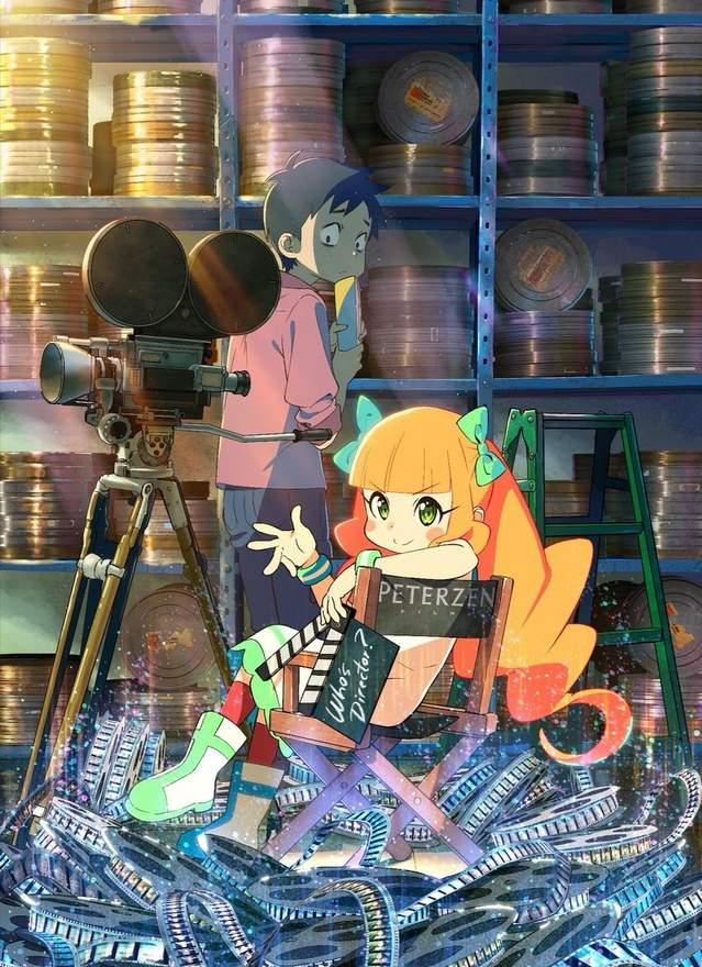 剧场动画「最喜欢电影的彭波小姐」更新片段动图