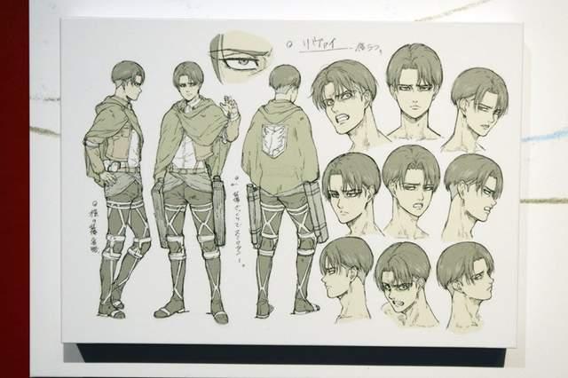 「进击的巨人 最终章」角色人设图公开