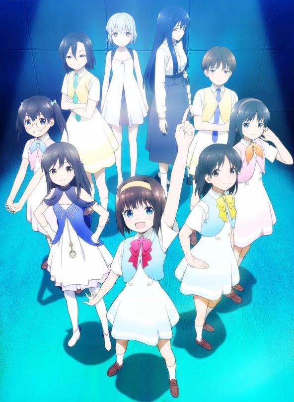 原创TV动画「剧偶像」1月5日开播!新宣传图公开