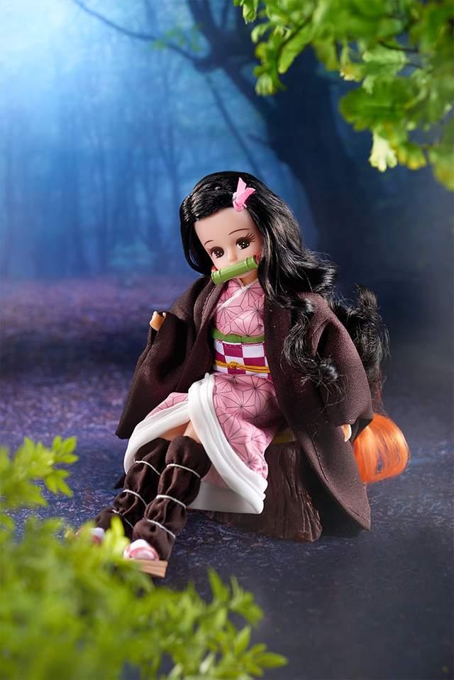 莉卡联动「鬼灭之刃」 炭治郎兄妹版时装娃娃公开