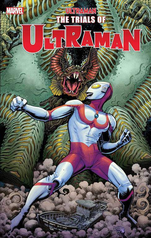 漫威特摄漫画「奥特曼崛起」新封面图公开