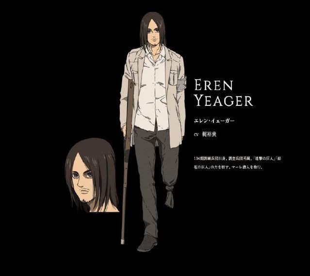 TV动画「进击的巨人 最终季」新视觉图及艾伦角色图公开