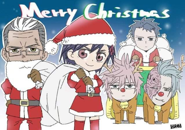 碇谷敦公开「异度侵入」圣诞节贺图