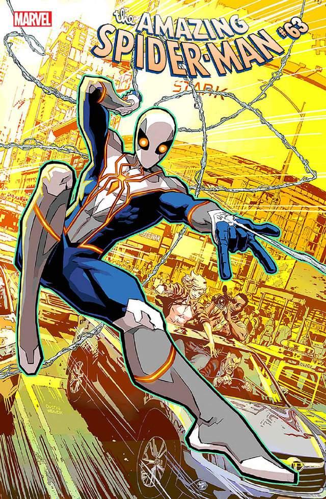 漫画「蜘蛛侠」彼得·帕克2021新战衣公布