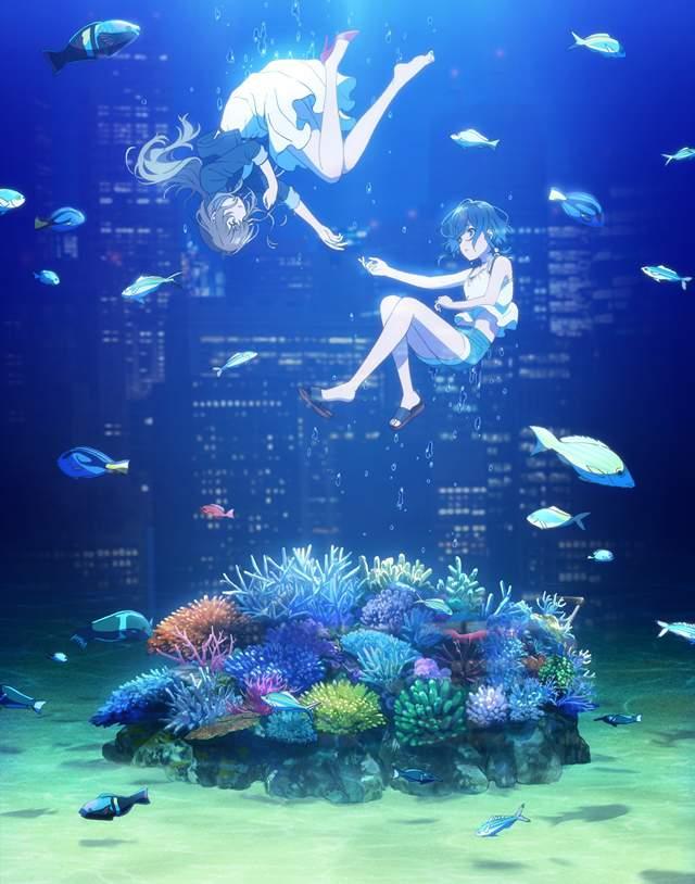 原创动画「白砂的Aquatope」角色原案公开