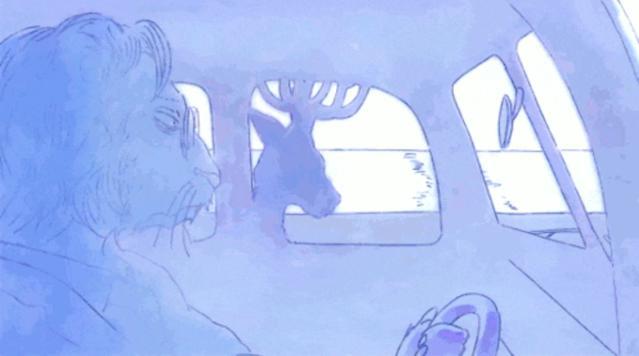 「BEASTARS」第2季ED映像担当公开手绘图