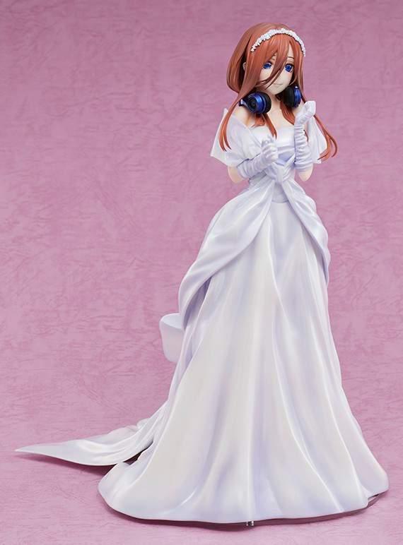 「五等分的花嫁∬」中野三玖婚纱手办开订