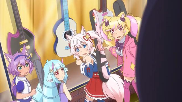 电视动画「SHOW BY ROCK!!STARS!!」第一弹小剧场公开