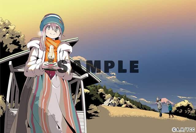 TV动画「摇曳露营△」第二季BD第2卷包装封面图公开