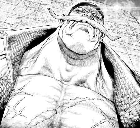 「石纪元」原画Boichi公开其描绘的艾斯&白胡子角色图