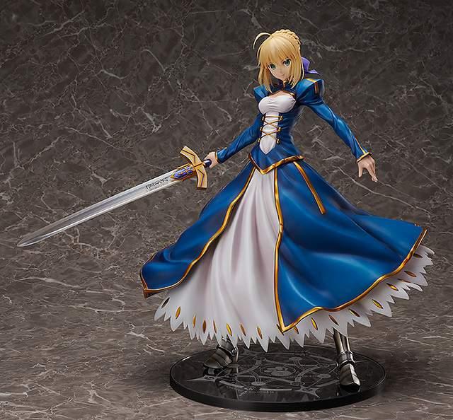 「Fate/Grand Order」阿尔托莉雅・潘德拉贡手办登场