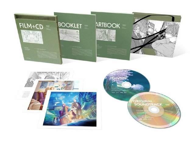 剧场版「given 被赠与的未来」Blue-ray&DVD今日发售