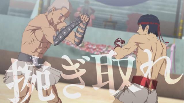 电视动画「Cestvs -The Roman Fighter-」第一弹PV及视觉图公开