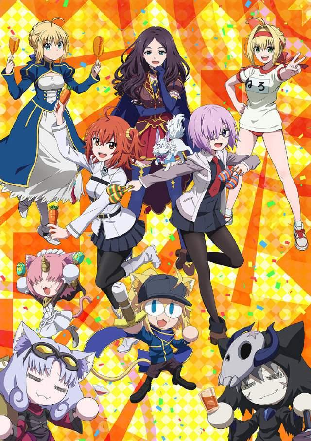 OVA动画「Fate Grand Carnival」新视觉图公开