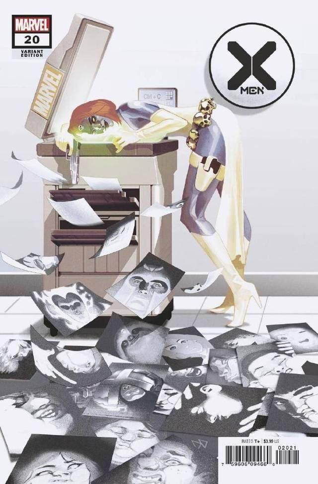 画师绘制「X战警」第20期变体封面图公开