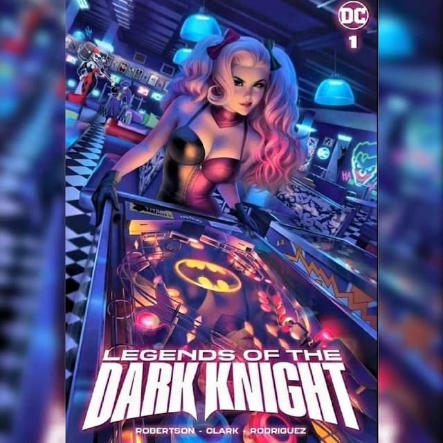 画师绘制「Legends of the Dark Knight」第1期变体封面图公开