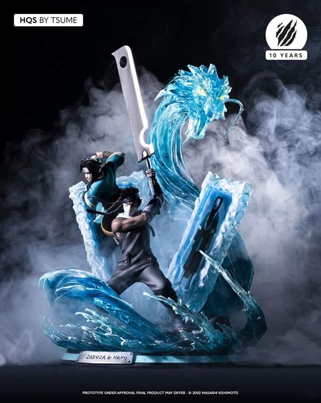 Tsume公开「火影忍者」桃地再不斩&白手办