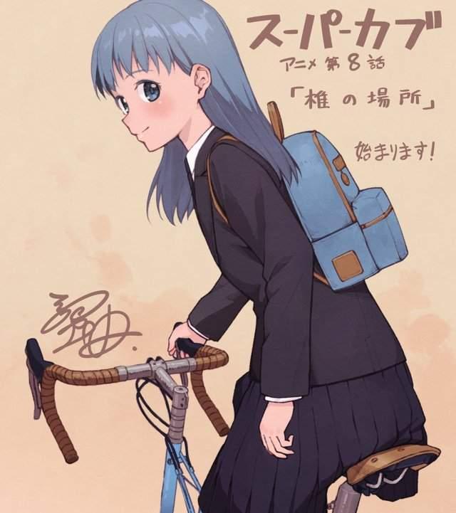 漫画「本田小狼与我」作者公开第八话宣传绘