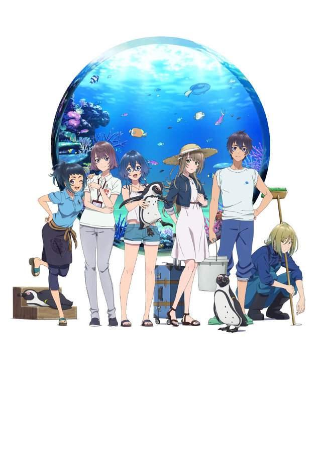 TV动画「白砂的Aquatope」视觉图第2弹公开