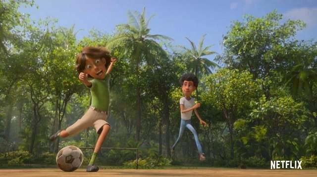 动画电影「巨怪猎人:泰坦的觉醒」正式预告片公开