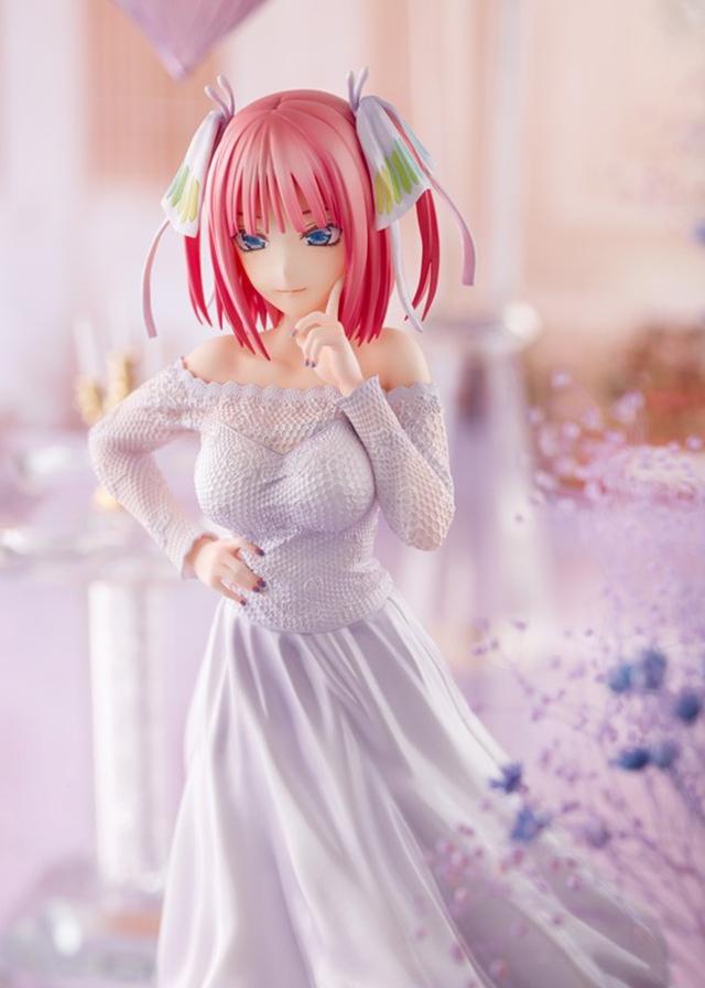 「五等分的新娘∬」中野二乃「婚纱Ver.」手办开订