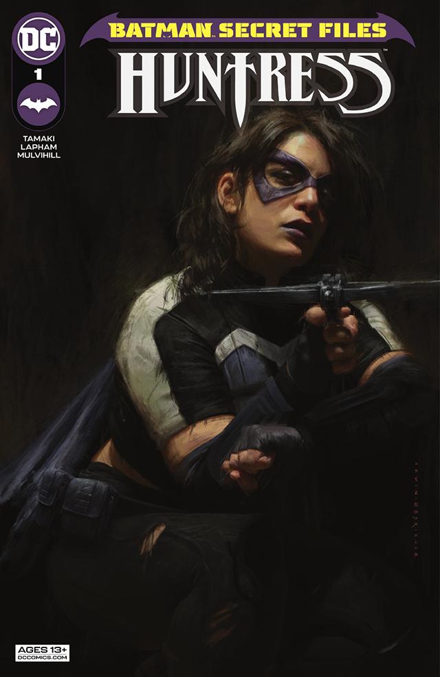 「蝙蝠侠秘密档案:女猎手」第一期正式封面公开