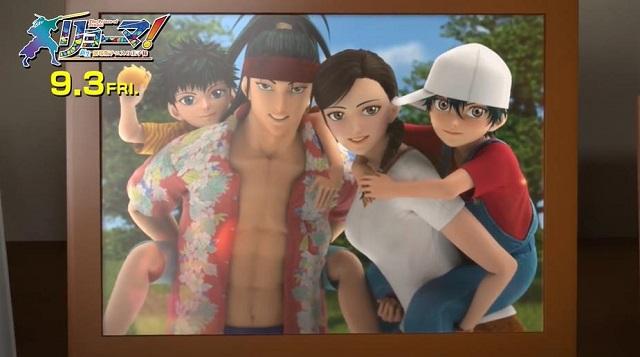 「龙马!新生剧场版网球王子」越前龙马&龙崎樱乃歌舞二重唱片段公开