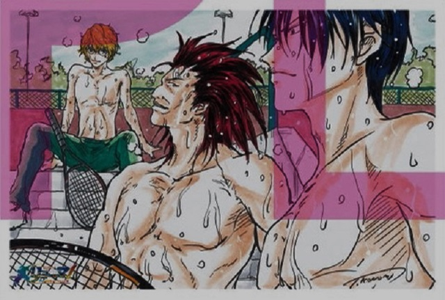 许斐刚「龙马!新生剧场版网球王子」特典插画卡公开