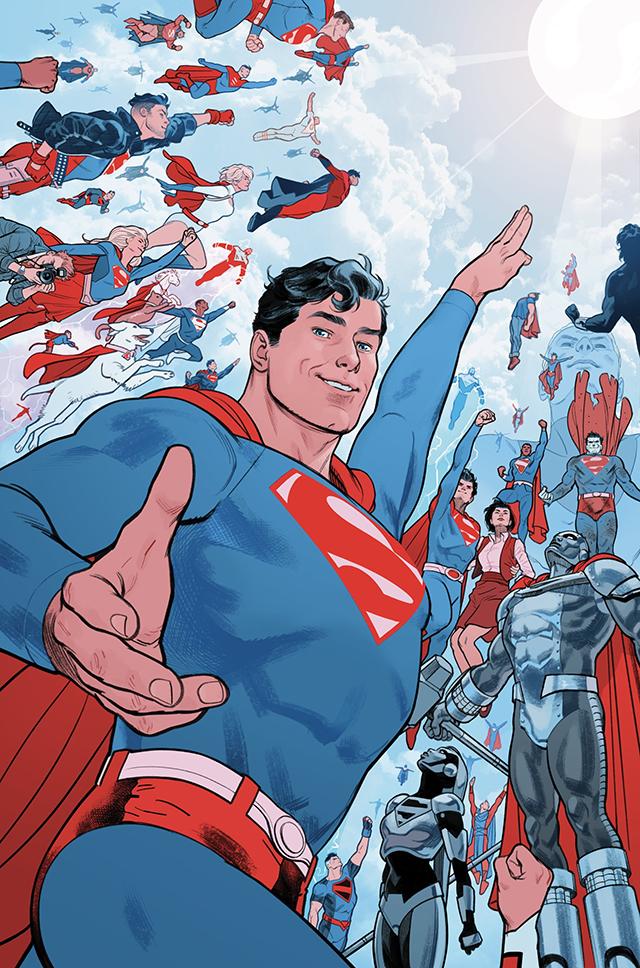 「超人:红与蓝」第六期正式封面公开