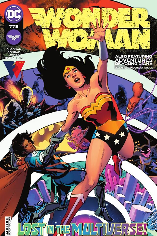 DC漫画「神奇女侠」第778期正式封面公开
