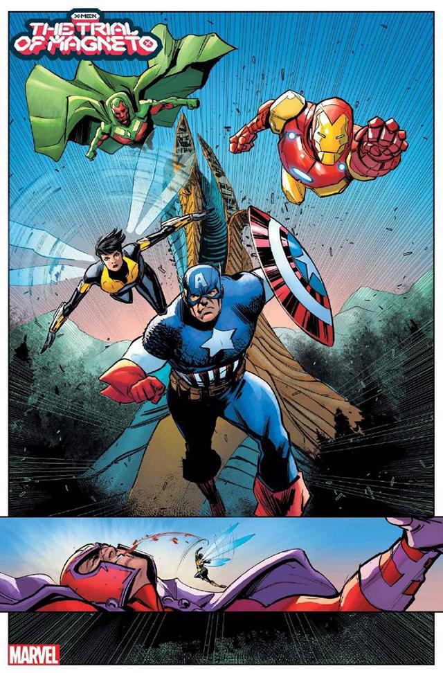 「X战警:万磁王的审判」第2期封面及无字预览公开