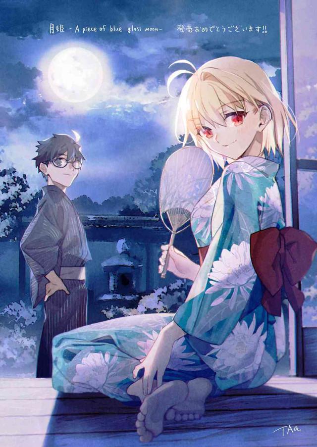 TAa「月姬 -A piece of blue glass moon-」发售贺图公开