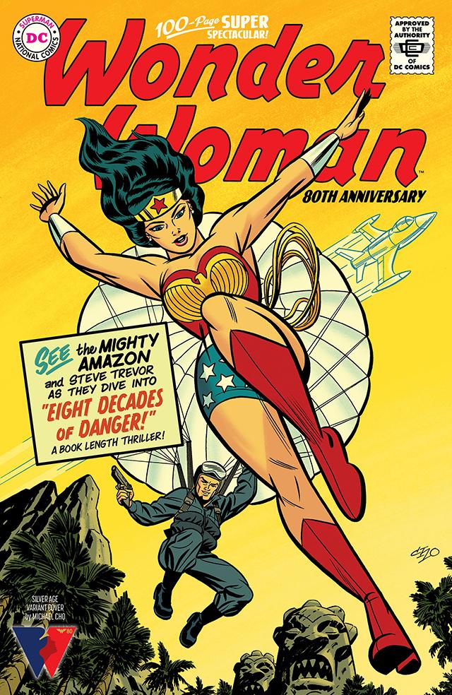 DC公开「神奇女侠」80周年纪念特刊青铜时代变体封面