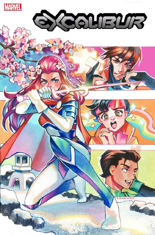 漫威漫画「圣剑」第24期变体封面公开
